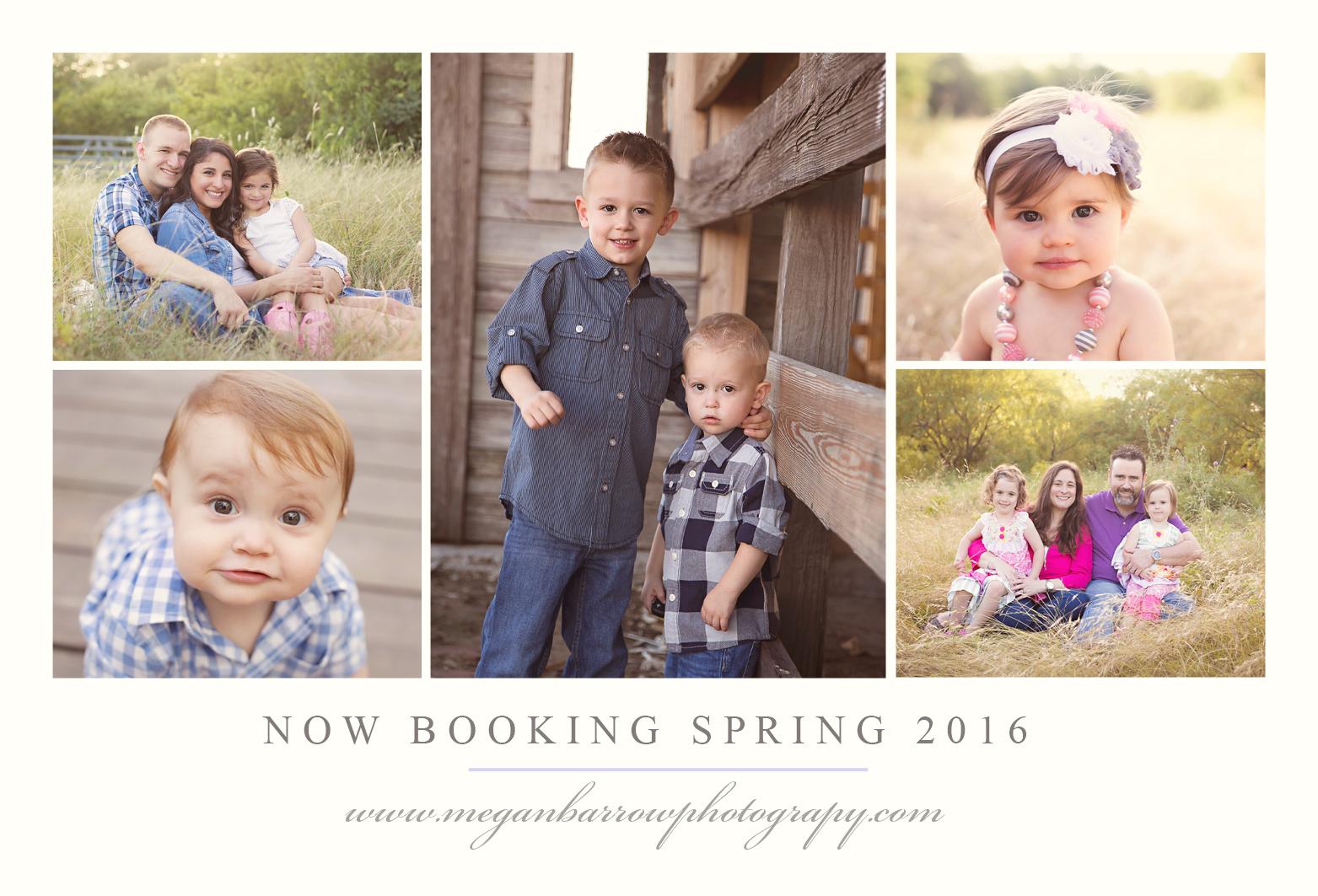 Booking spring 2016
